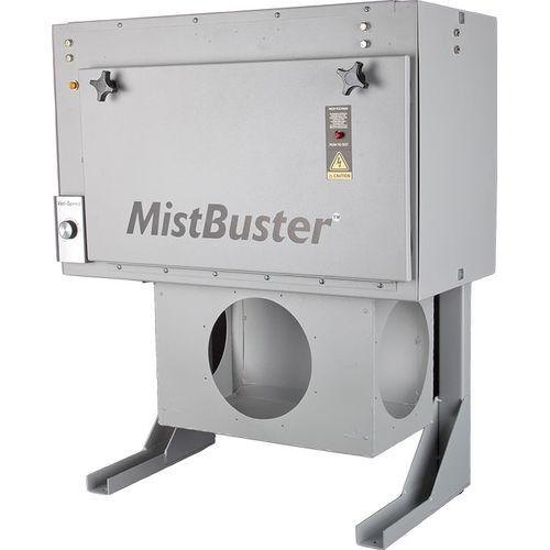 colector de niebla de humo / con material filtrante / compacto