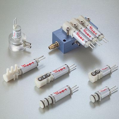electroválvula de 3 vías / NC / para gas / compacta