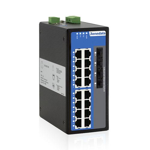 conmutador Ethernet administrable / 20 puertos / gigabit / de nivel 2