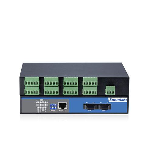 convertidor de señal / de comunicaciones / RS-485 a fibra óptica / para control automático