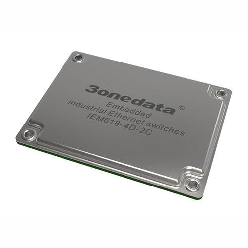 módulo conmutador Ethernet administrable / 8 puertos / de nivel 2 / embarcado