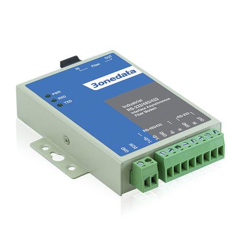 convertidor de comunicaciones / en serie / de fibras ópticas / para control automático