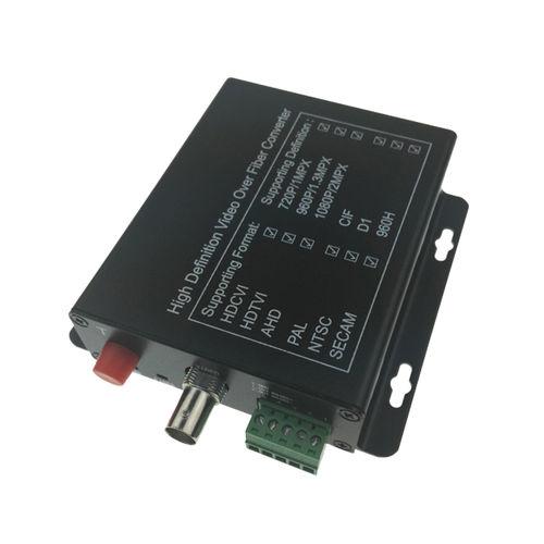 convertidor de vídeo / de fibras ópticas / universal