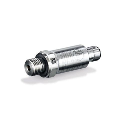 transmisor de presión relativa / con salida analógica / roscado / de acero inoxidable