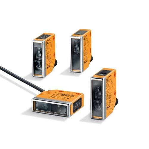 sensor fotoeléctrico con supresión de fondo / de reflexión directa / retrorreflector / de tipo barrera