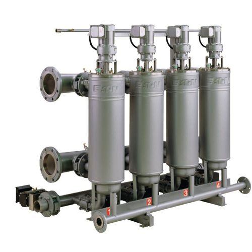 unidad de filtración de cartucho / de polvo / autolimpiante
