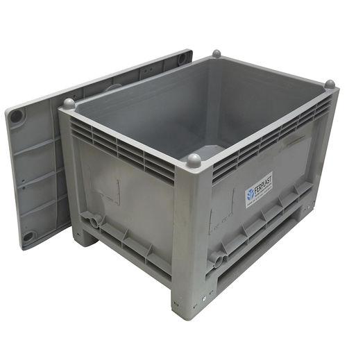 caja-palé de plástico / para la industria alimentaria / industrial / para la industria farmacéutica
