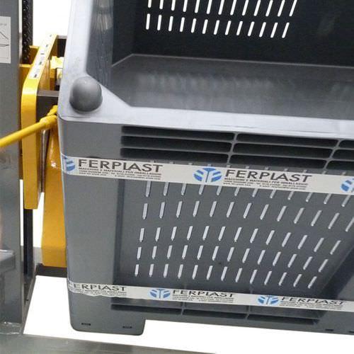 apiladora manual / con operador a pie / para palés / para cajas