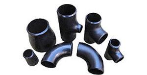 racor de encaje / de ángulo recto / hidráulico / de acero al carbono
