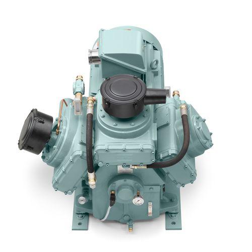 compresor de aire / estacionario / con motor eléctrico / de pistón