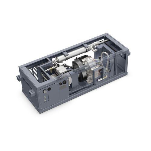 compresor de aire / estacionario / con motor eléctrico / scroll