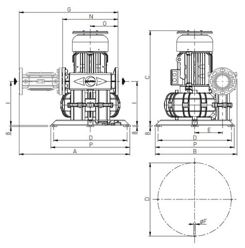 soplador de biogás