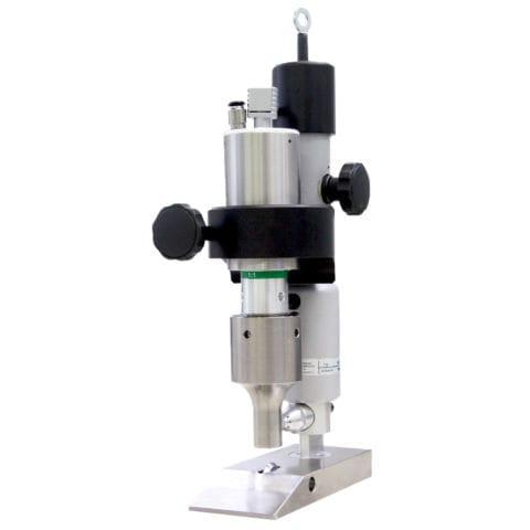 cabezal de corte por ultrasonidos / para textiles / de fuerza ajustable