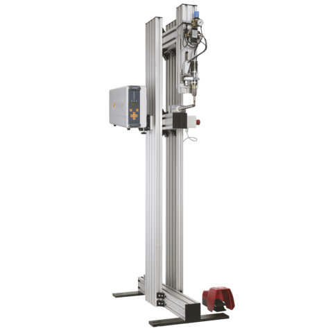 máquina de corte para textiles / por ultrasonidos / enrase / selladora