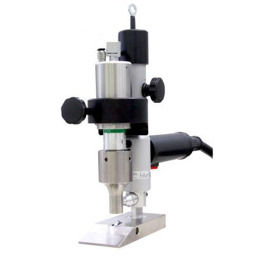 máquina de corte para textiles / por ultrasonidos / con guillotina / CNC