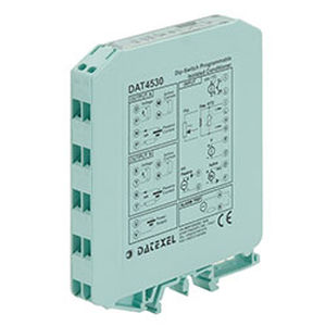 convertidor analógico / tensión / corriente / con 1 entrada analógica / universal