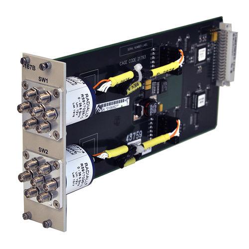 interruptor SPDT / de microondas / enchufable / estándar