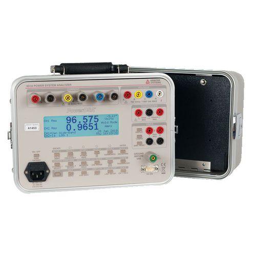 analizador de red eléctrica / de potencia / digital
