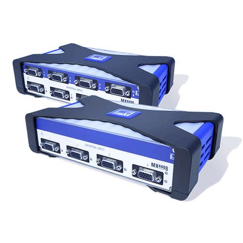 sistema de adquisición de datos benchtop / vía Ethernet