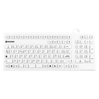 teclado de mesa / sin puntero / AZERTY / USB