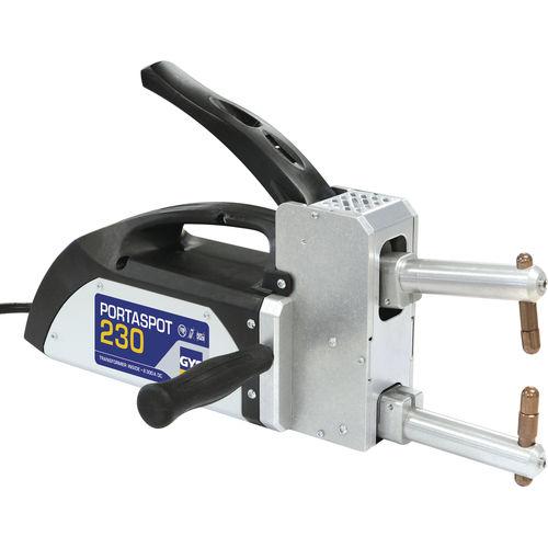 máquina de soldar por puntos / AC / automática / con ruedas