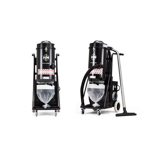 aspirador monofásico / industrial / de ruedas / con filtro HEPA