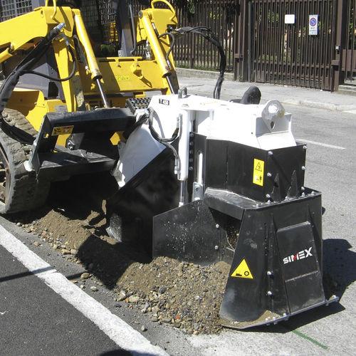 sierra cortadora de pavimento