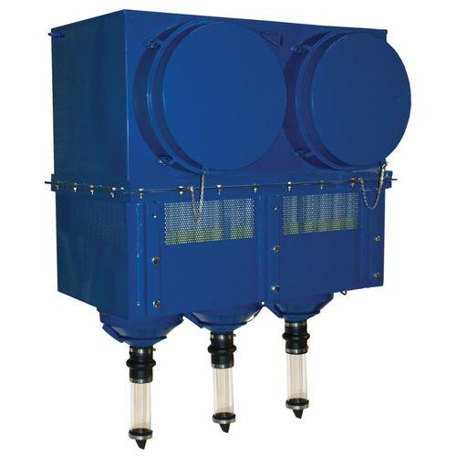 unidad de filtración de cartucho / de aire / compacta