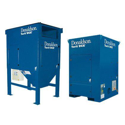extractor de humo de pie / para la industria / de cartucho / compacto