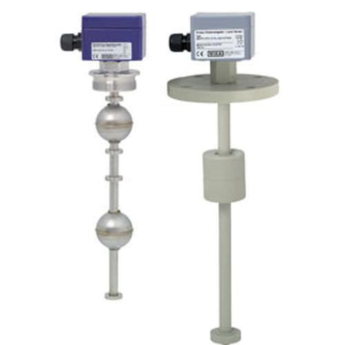 interruptor de nivel de flotador magnético / para líquidos / vertical / antideflagrante