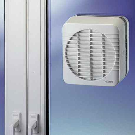 ventilador axial / de circulación de aire / comercial / industrial