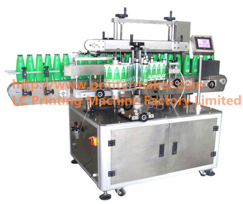 máquina de etiquetado automática / para etiquetas autoadhesivas / lineal / de alta velocidad