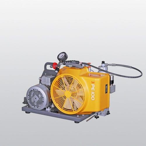 compresor de aire respirable / móvil / AC / con motor de gasolina