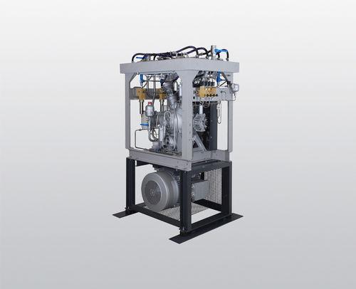 sobrepresor refrigerado por agua / de aire / de nitrógeno / de gas natural