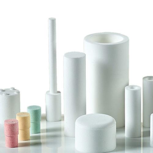 materia filtrante de polvo