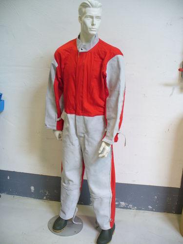 traje de trabajo / de protección mecánica / para arenado