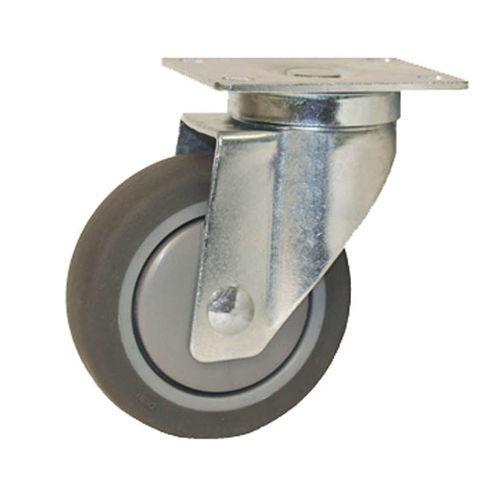 ruedecilla giratoria / con platino giratorio / para carga ligera / de nailon