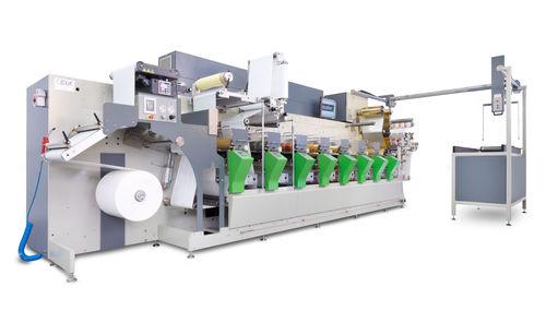 prensa flexográfica de 6 colores / para papel