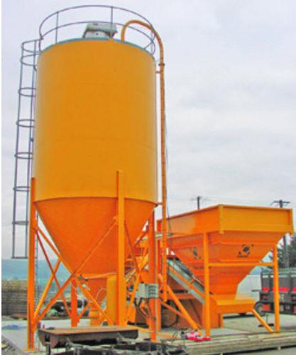 silo soldado / de cemento