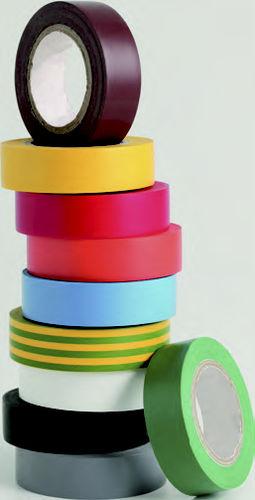 cinta adhesiva de caucho / para la industria / para aplicaciones eléctricas / aislante