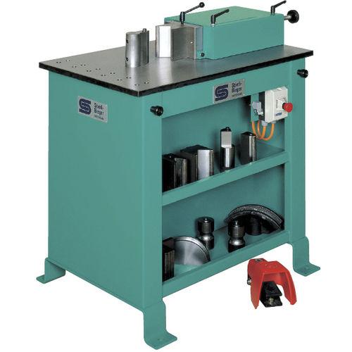 máquina curvadora hidráulica / de perfiles / horizontal / compacta