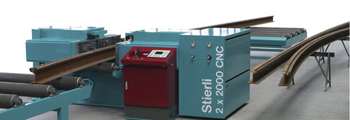 máquina curvadora CNC / hidráulica / de perfiles / automática