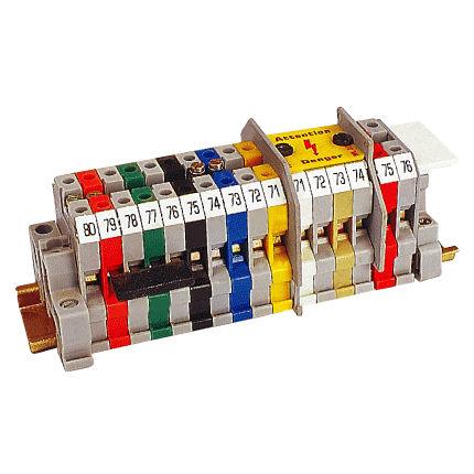 bloque de conexión en riel-DIN