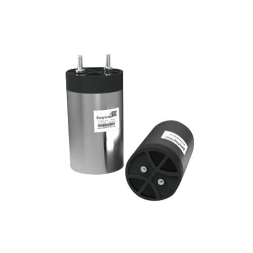 condensador eléctrico de película / cilíndrico / de alta potencia / AC