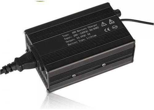 cargador de baterías ácido-plomo / litio / open frame / enchufable