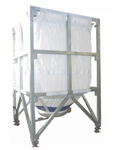 silo flexible / con extractor / para polvo / de granulados