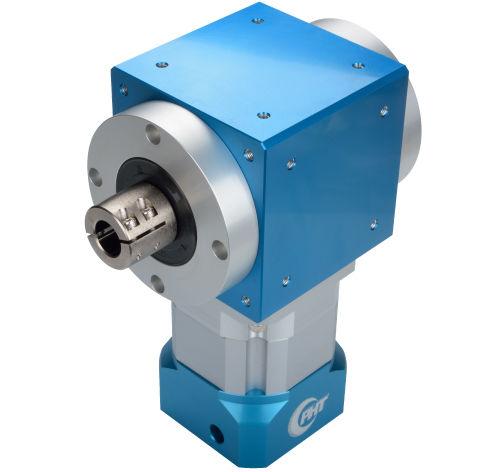 reductor de engranajes cónicos / de ángulo recto / de precisión / para servomotor
