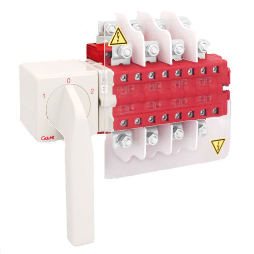 interruptor de derivación / manual / de inversión de caudal