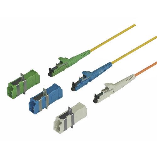 conector óptico / de datos / de fibras ópticas / LC