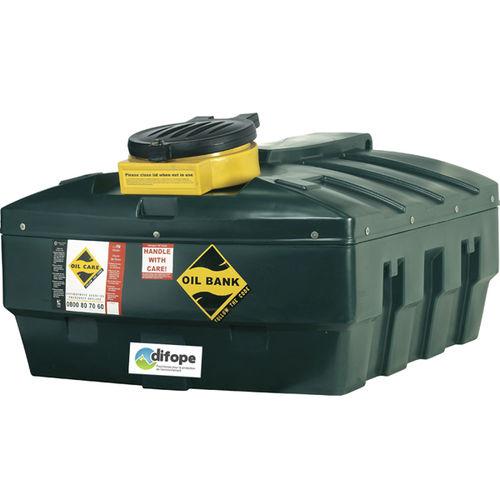 cuba para almacenamiento / de vaciado / para aceite usado / de polietileno